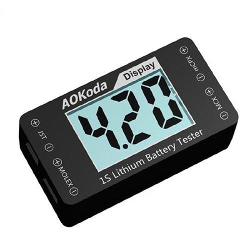◆AOKoda AOK-041 1S専用バッテリーチェッカー Lithium Battery Tester Indicator
