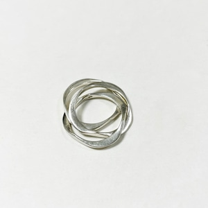 Old 925 Silver Triple  Ring