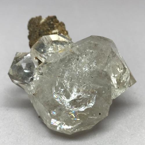 母岩付きハーキマーダイヤモンド原石