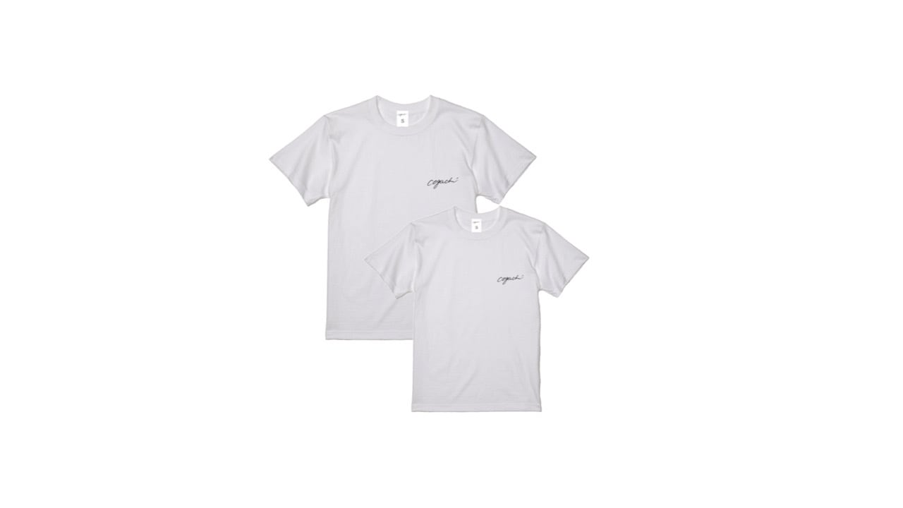 1991 back logo T-shirt pair set (WH)
