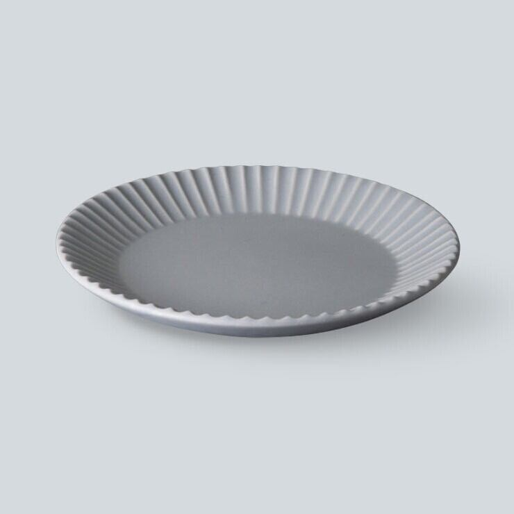 SAKUZAN STRIPE (作山 ストライプ ) Stripe Plate S【グレー】