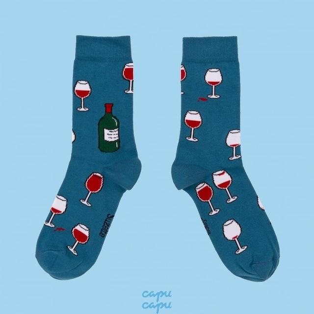 Coucou Suzette Wine Socks