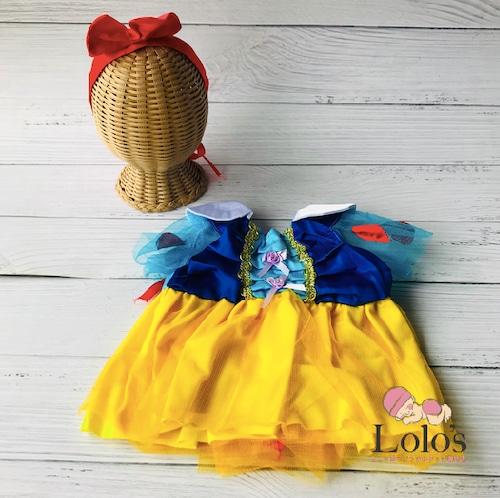 ママ必見♡白雪姫ドレス(新生児用)