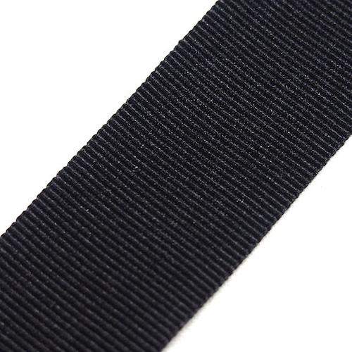 YKK グログランテープ 18㎜幅 黒/カラー 200m巻