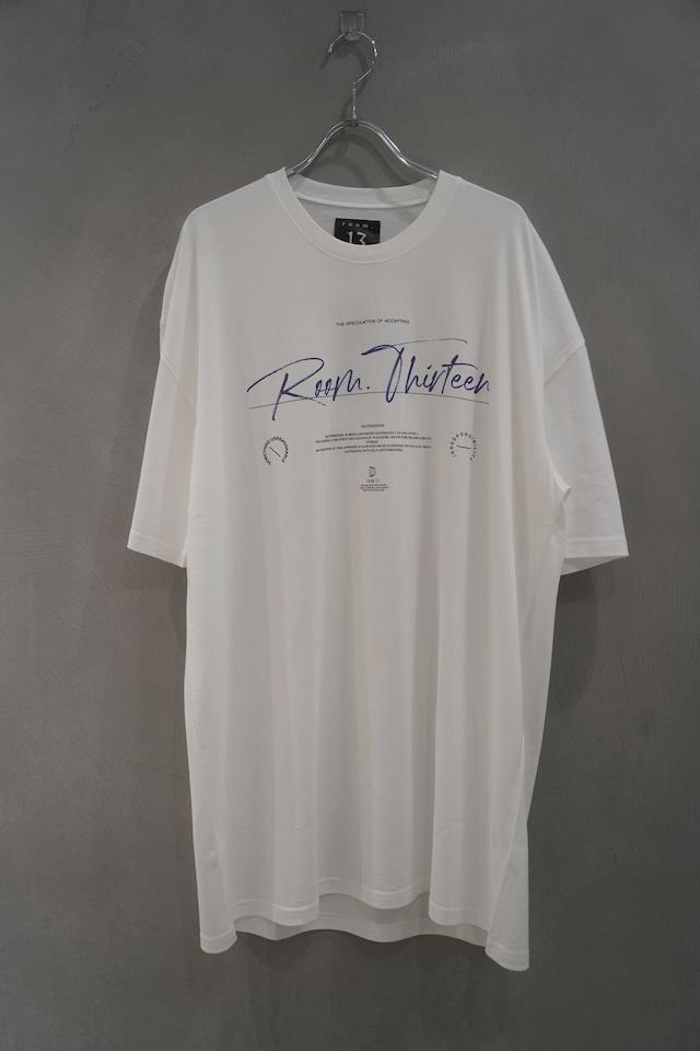 room13  Graphic T-Shirt   logo white