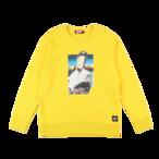 K'rooklyn × SUGI Collaboration Sweat -Yellow-