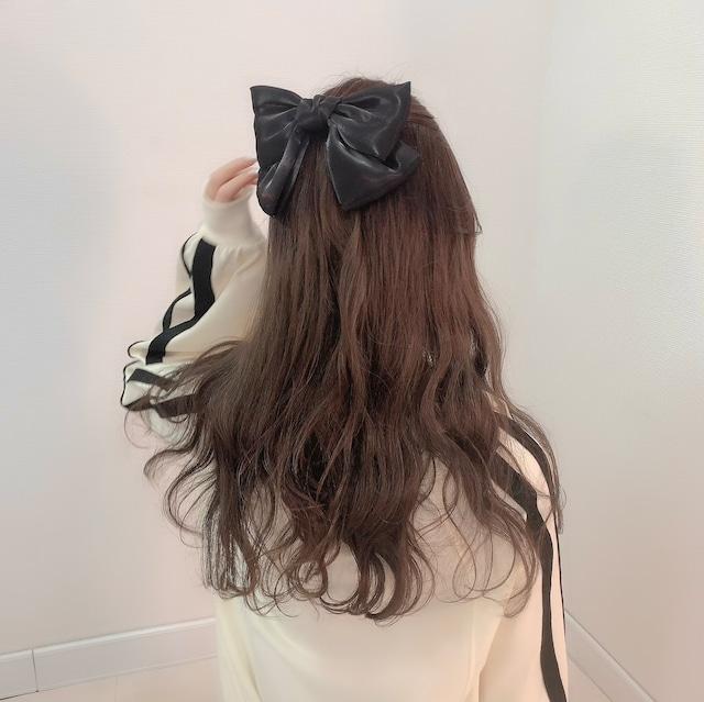 【 再入荷 】tulle ribbon(Black)