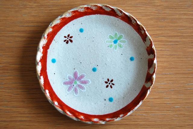 豆皿 パステル(フラワー)