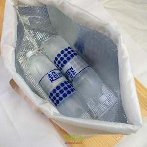 買い物カゴにすっぽりポリドラス保冷トート