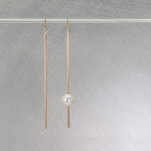 Stick Earrings / Pearl
