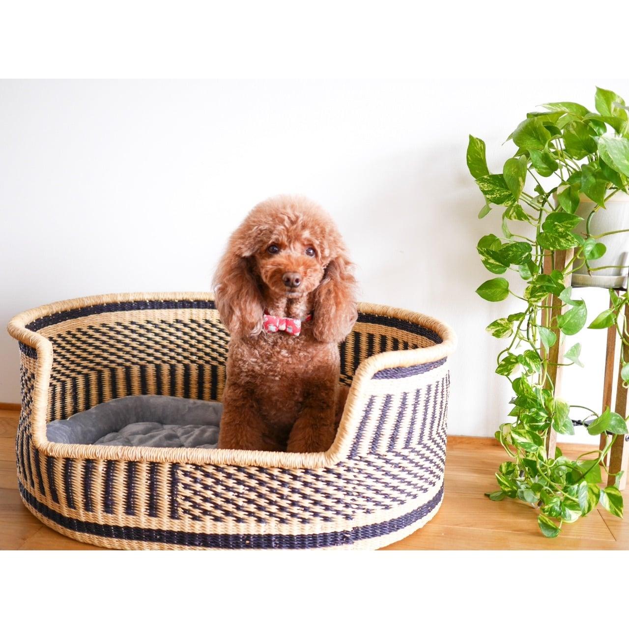 African Basket Pet Bed