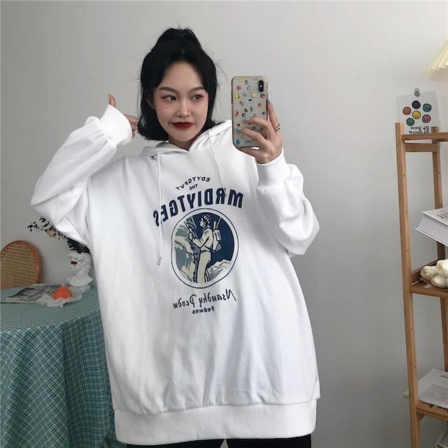 【トップス】カートゥーンシンプルファッション長袖パーカー42908692