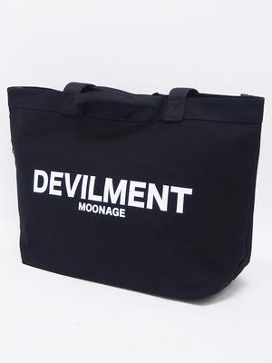 Moonage Devilment (ムーンエイジデビルメント) PRINT BIG ECO BAG / BLACK mac-0379-1
