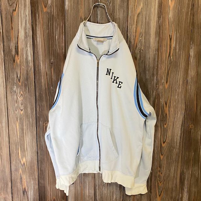 [NIKE]light blue jersey jacket