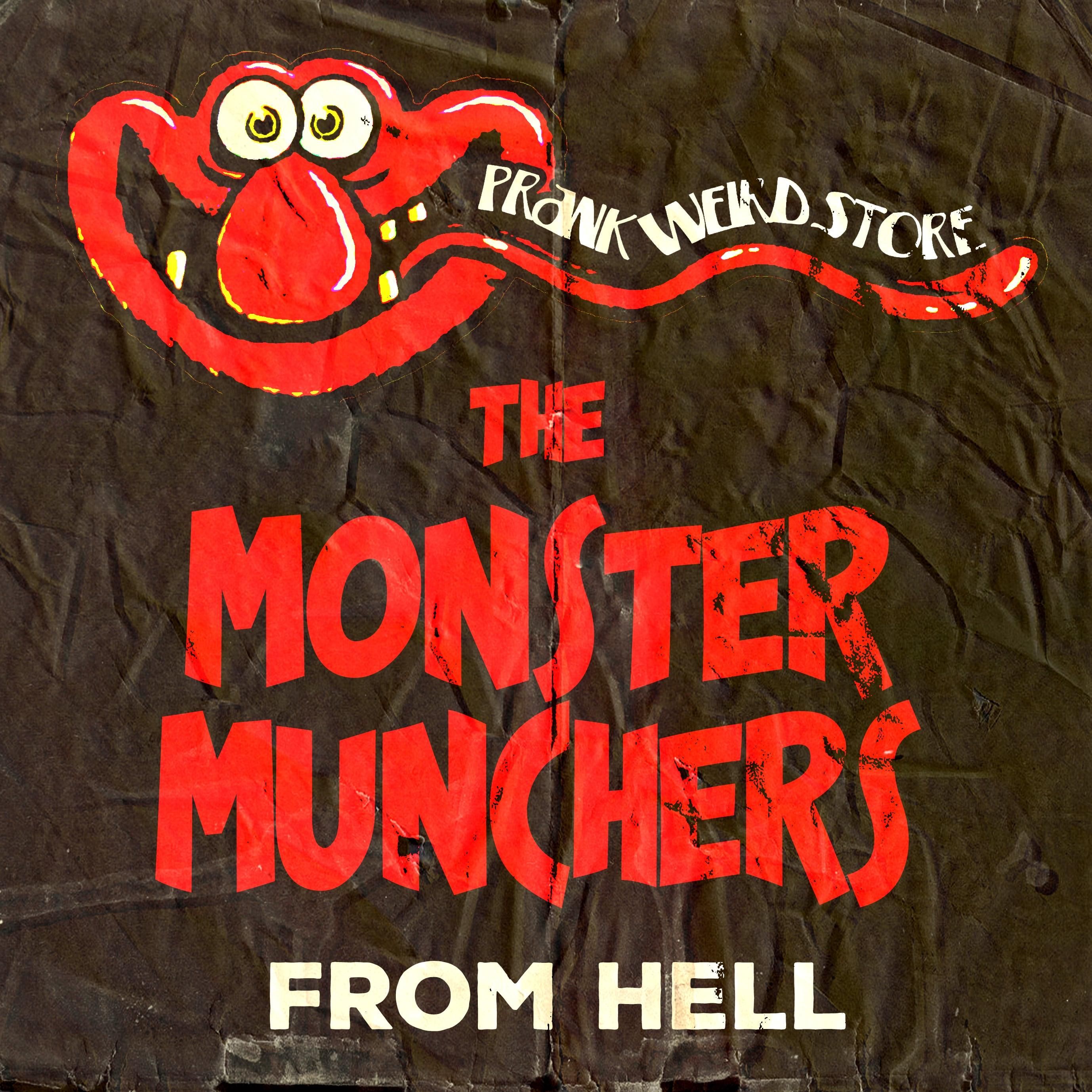 "PWS ""THE MONSTER MUNCHERS"" CORDUROY CAP"