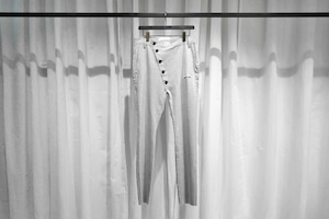 ASKYY / NAPOLEON TROUSERS / SNOW GRY