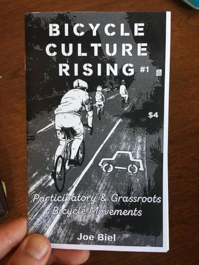 洋書 - Bicycle Culture Rising #1: Participatory & Grassroots Bicycle Movements (Zine)