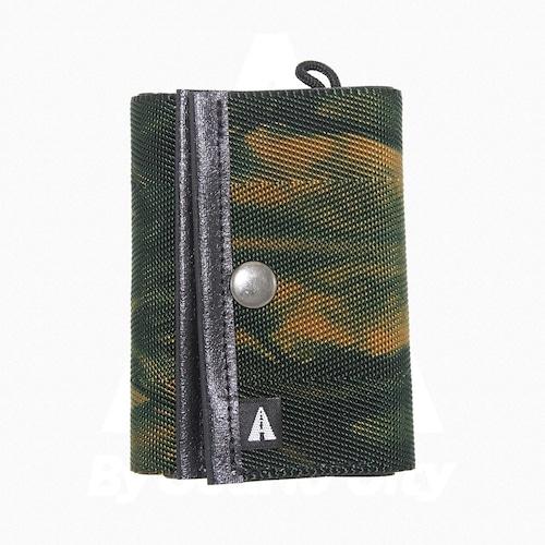 A WALLET (3つ折り財布)・Tie Dye(タイダイ) Green × Beige