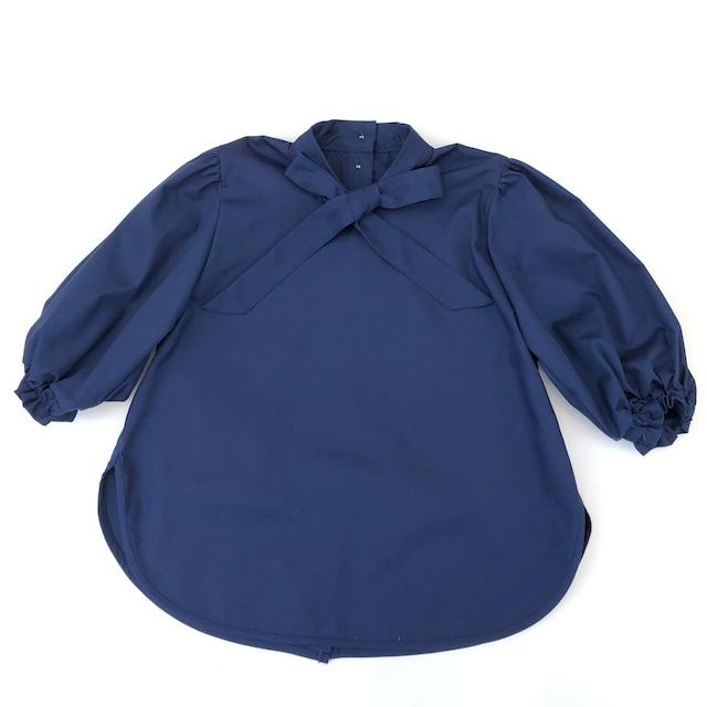 【21AW】ゾジオ(ZOZIO) Mango shirts[S]シャツ  navy
