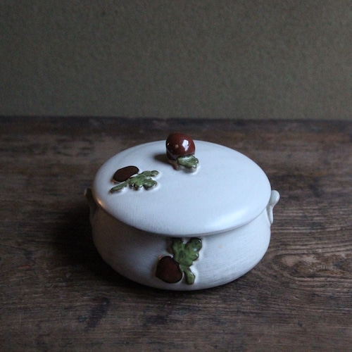 赤カブの蓋つき小鉢 在庫2客