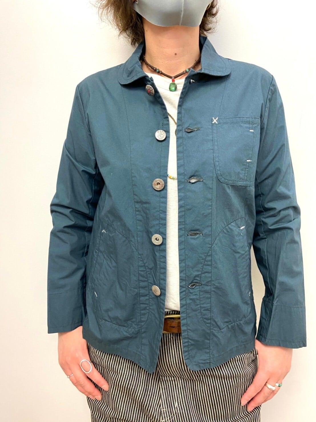 【ONEWASH】天日干しビンテージワッシャーワークジャケット