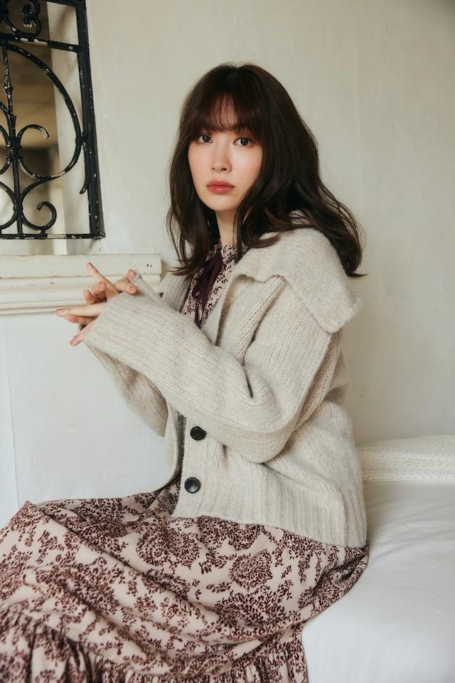Everyday Wool-Blend Knit Cardigan