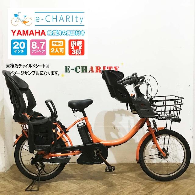 【中古車】ヤマハ パスバビー オレンジ KD011