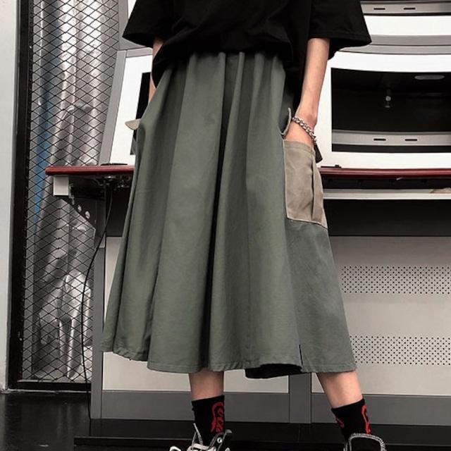 【ボトムス】ストリート系サイドポケットスカート43149644