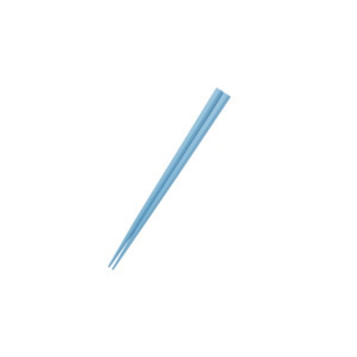 五角形15cmPBT箸  ブルー【OGH-5BL】