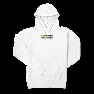 マリファナJPオリジナルロゴデザイン【パーカー】(Box logo cannabis5色)