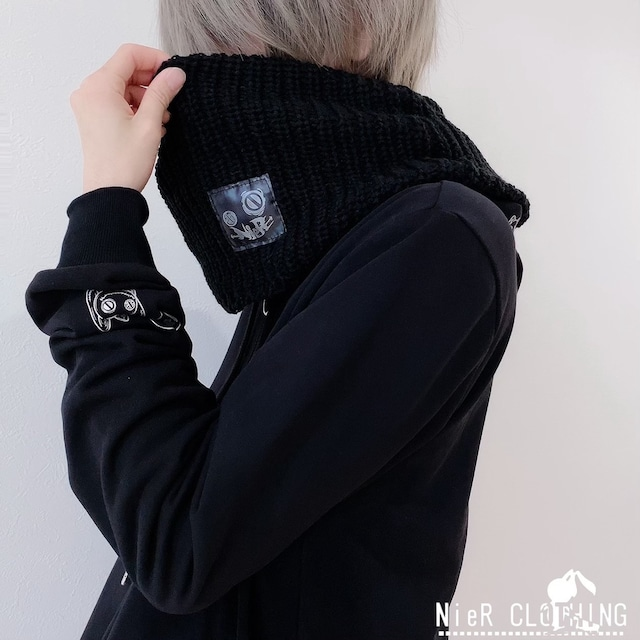 【Twitterフォロワー175000人突破記念商品】NieR ORIGINAL NECK WARMER