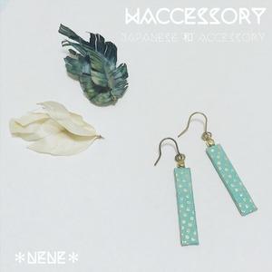 WACCESSORY『涼』_ピアス/イヤリング