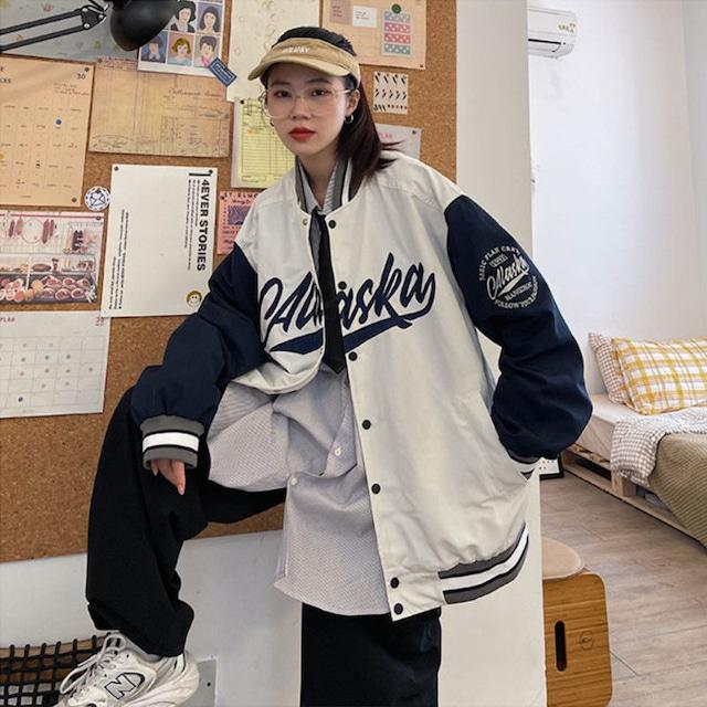 【アウター】新登場 カジュアル ファッション 数字柄 配色 シングルブレスト ロング ジャケット53621374