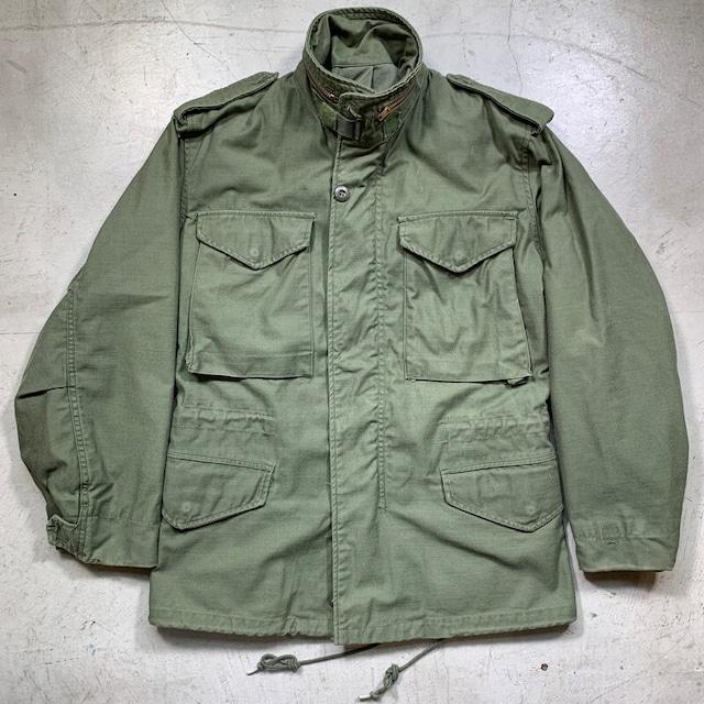 80's U.S.ARMY M-65 フィールドジャケット 3rdモデル X-SMALL SHORT 希少サイズ ALPHA INDUSTRIES社 DLA100-81-C-3071 ブラスジッパー 米軍 XS-S ヴィンテージ BA-1569 RM1988H
