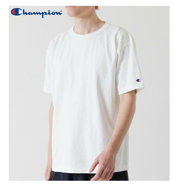 チャンピオン Tシャツ クルーネック T1011 半袖 アメリカ製 メンズ CHAMPION 正規販売店 C5-P301 ホワイト