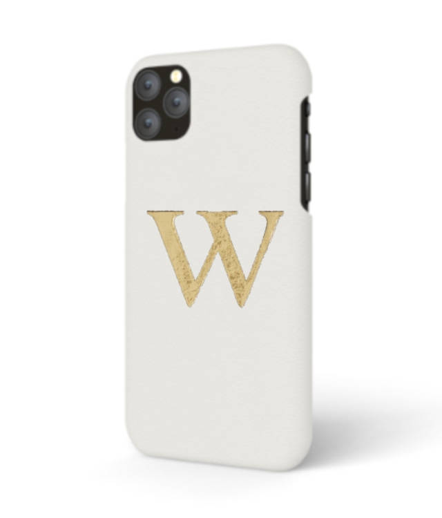 iPhone Premium Smooth Leather Case (Cotton White)