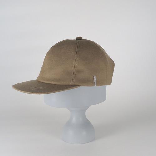 AW20-BD-10 Wool Melton 6P Cap - CAM/SIL