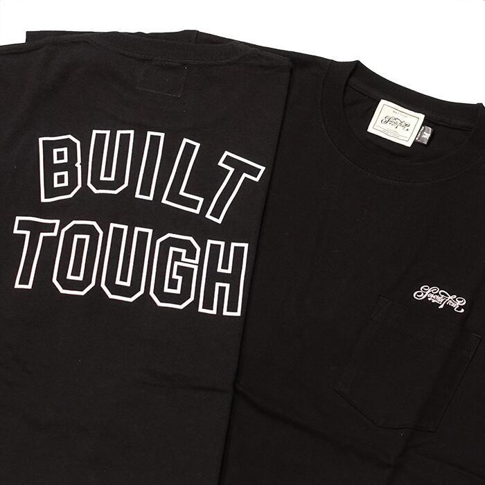 SEVENTY FOUR(セブンティーフォー) / POCKET T-SHIRT(BLACK)(STF21SS15)(Tシャツ)