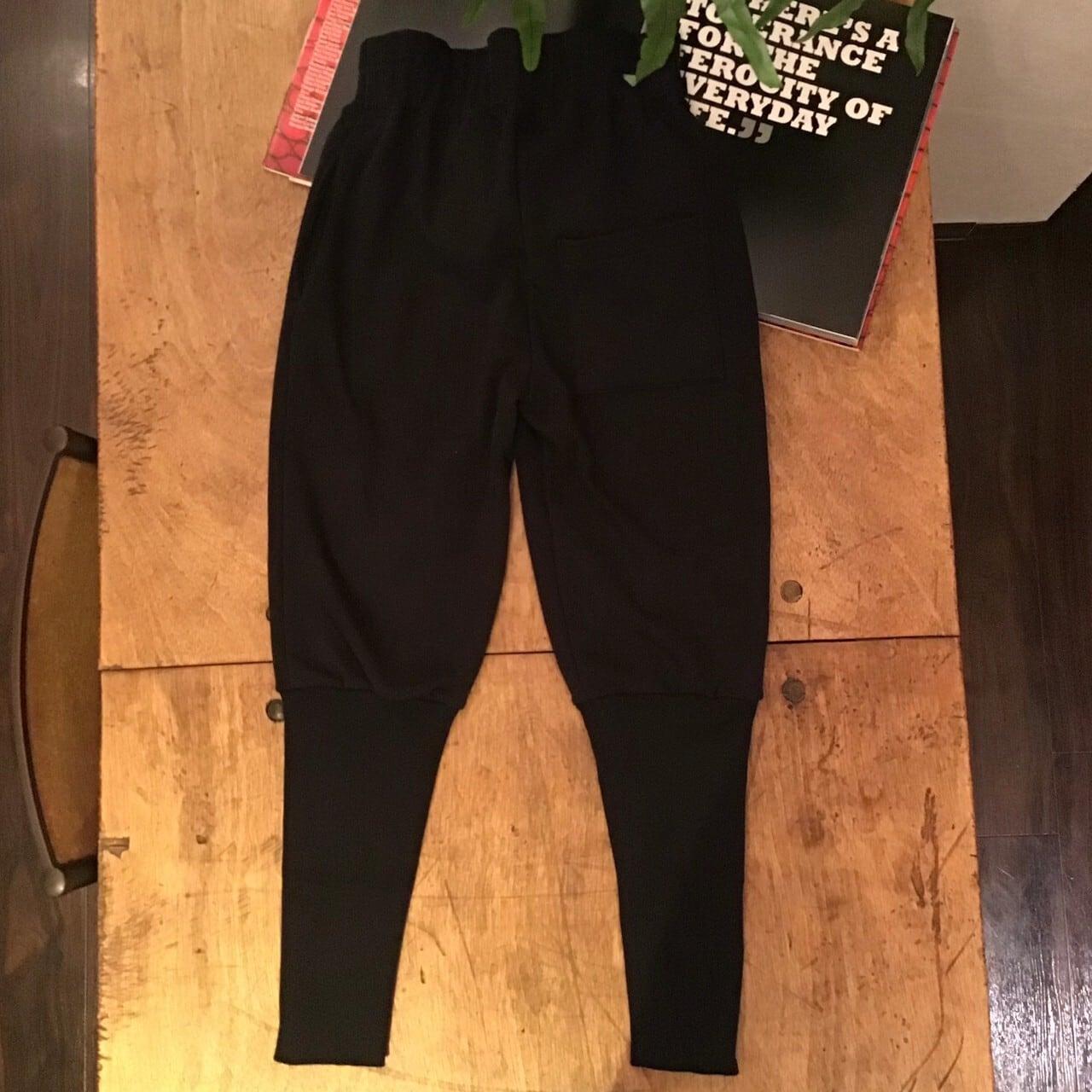FMIETANAKA F20A-31 warm rib pants color black size 36 1点 38 1点