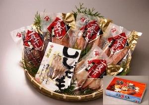 北海味風浪 Aセット 【干しシシャモ 、開き真ほっけ 、ツボ鯛など】