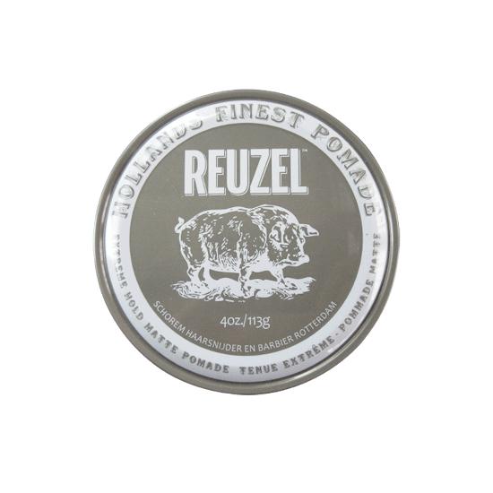 Reuzel(ルーゾー) マットポマード 水性エクストリームホールド グレー缶 113g