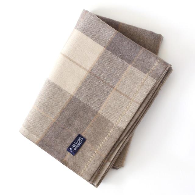100%ピュアカシミヤブランケット毛布(ベージュー)