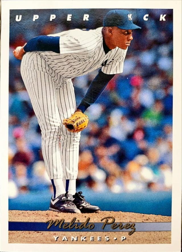 MLBカード 93UPPERDECK Melido Perez #326 YANKEES