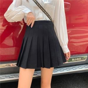 3色/Aラインプリーツスカート ・19978