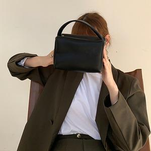 leather small handbag(3color)