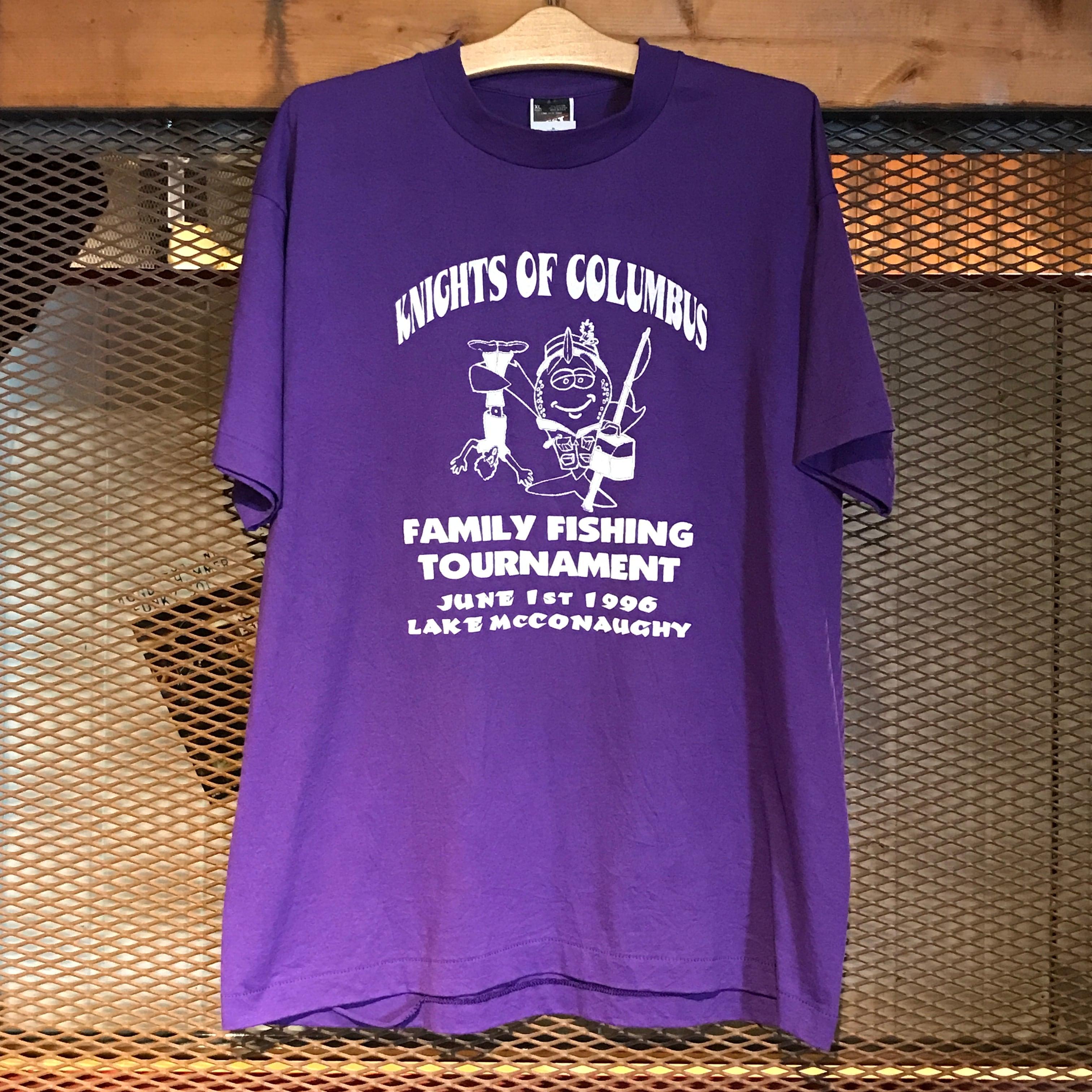 【Used】FISHING Tee(Purple)