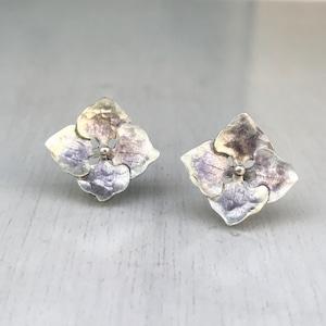 紫陽花のピアス_ M