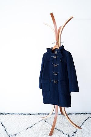 "【1970s】""Gloverall"" Wool Duffle Coat / v446"