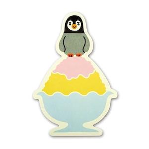 キリヌキレター ペンギン