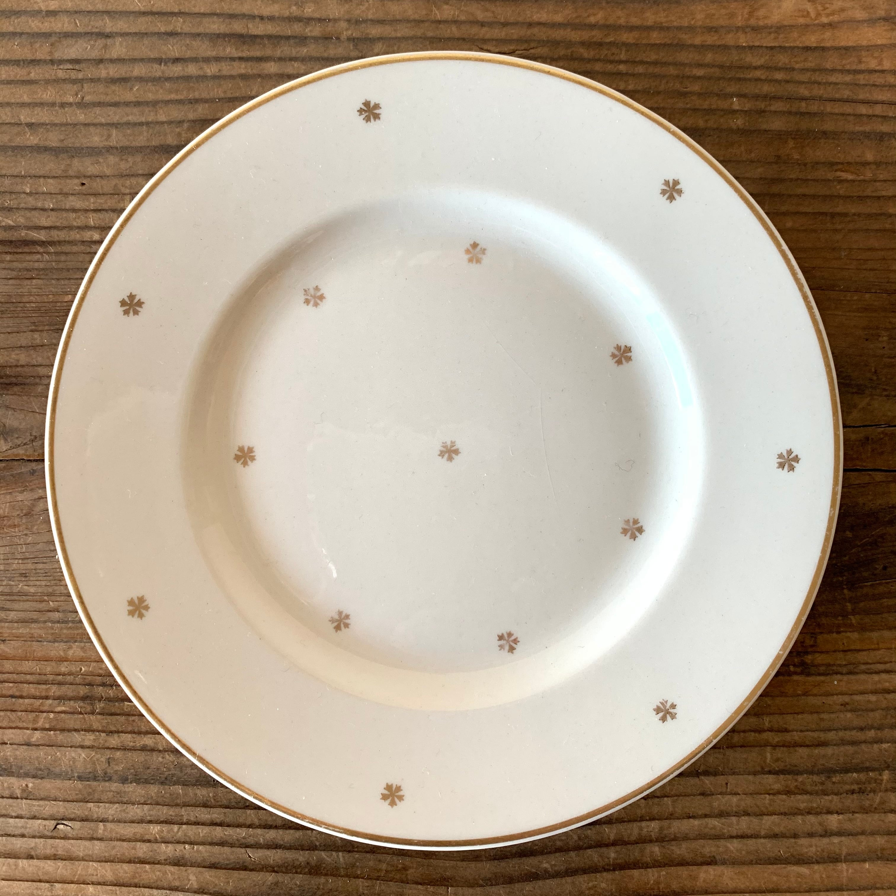 ARABIA / Dessert plate[G-2]※貫入あり